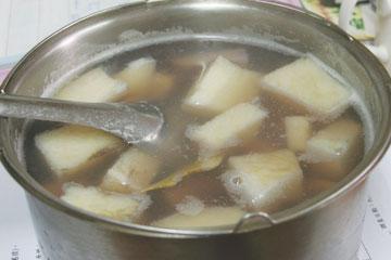 有機山藥甜湯